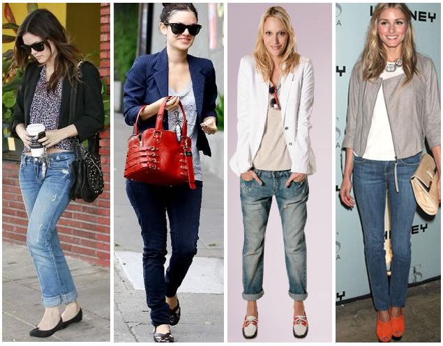e52c290ef4 A Blogueira  Look s com calça jeans.