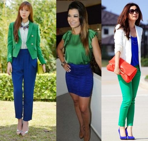 look-azul-e-verde