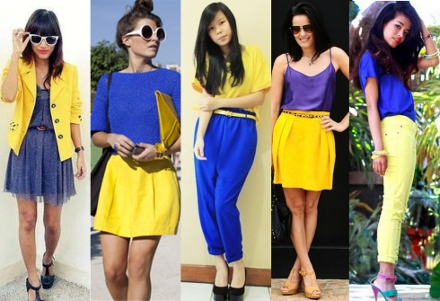 look-azul-e-amarelo